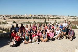 groepsfoto reis Israel
